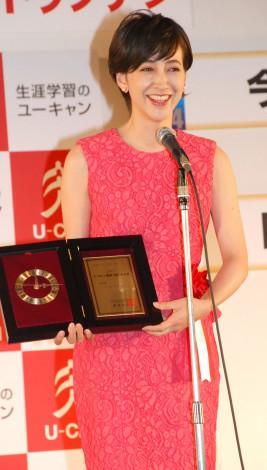 『2013 ユーキャン新語・流行語大賞』の表彰式に出席した滝川クリステル (C)ORICON NewS inc.