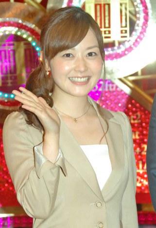 日本テレビ系新番組『有吉ゼミ』収録後、会見を行った水卜麻美アナ (C)ORICON NewS inc.