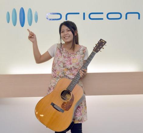 オリコンを訪れ、メジャーデビュー報告したSuzu (C)ORICON NewS inc.