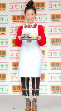 『吉野家CAFE』イベントに出席した福田彩乃 (C)ORICON NewS inc.