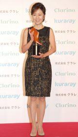 『第11回 クラリーノ美脚大賞』表彰式に出席した浅田美代子 (C)ORICON NewS inc.