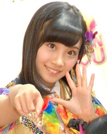 携帯カードゲーム『SKE48 Passion For You』新CM発表会に出席したSKE48・柴田阿弥 (C)ORICON NewS inc.