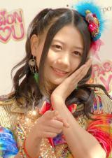携帯カードゲーム『SKE48 Passion For You』新CM発表会に出席したSKE48・古畑奈和 (C)ORICON NewS inc.