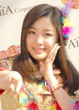 携帯カードゲーム『SKE48 Passion For You』新CM発表会に出席したSKE48・石田安奈 (C)ORICON NewS inc.