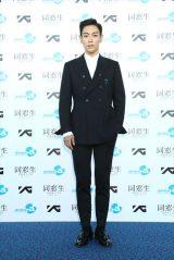 主演映画『同窓生』の公開記念イベントに出席したT.O.P(BIGBANG)