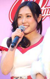 『全国ぷに子オーディション』の合格者発表イベントに出席した河合秋奈 (C)ORICON NewS inc.