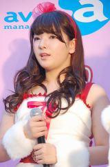『全国ぷに子オーディション』の合格者発表イベントに出席した堀川杏美 (C)ORICON NewS inc.