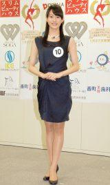 2014年度ミス日本コンテスト候補者の臼田美咲さん (C)ORICON NewS inc.
