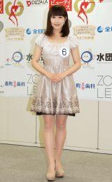 2014年度ミス日本コンテスト候補者の近藤祐加さん (C)ORICON NewS inc.