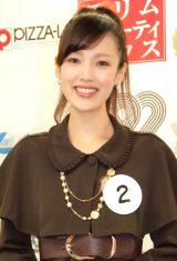2014年度ミス日本コンテスト候補者の太郎良綾さん(22)大分出身 (C)ORICON NewS inc.