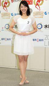 2014年度ミス日本コンテスト候補者の長野愛梨さん (C)ORICON NewS inc.
