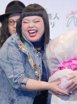 第4回『よしもとオシャレ芸人ランキング2013』女性オシャレ部門を受賞した渡辺直美 (C)ORICON NewS inc.
