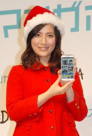 DeNAマンガ雑誌アプリ『マンガボックス』創刊記者発表会に出席した福田彩乃 (C)ORICON NewS inc.
