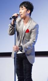 ファン300人の前で主題歌披露したBIGBANG・V.I (C)ORICON NewS inc.