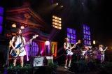 ツアー最終日に東西アリーナ公演を発表したSCANDAL
