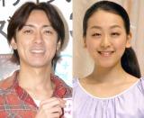 「2013年度ベスト眉ニスト」に輝いた(左から)矢部浩之&浅田真央 (C)ORICON NewS inc.