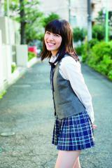 季刊誌『GiRLPOP 2014 WINTER』の表紙&巻頭特集はSKE48兼AKB48の松井珠理奈