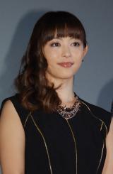 映画『受難』初日舞台あいさつに出席した岩佐真悠子 (C)ORICON NewS inc.