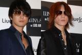 J(左)とSUGIZO(右)が二人だけでラジオ番組出演 (C)ORICON NewS inc.