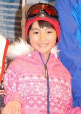 『プリンススノーリゾート2013-2014アンバサダー「スキーな夫婦」』任命式に出席した子役の松本来夢