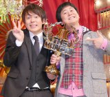『THE MANZAI2013』で優勝したウーマンラッシュアワー(左から)村本大輔、中川パラダイス、 (C)ORICON NewS inc.
