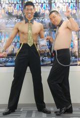 映画『マジック・マイク』Blu-ray&DVD発売記念イベントに出席したレイザーラモン (C)ORICON NewS inc.