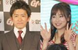 ブログで挙式を報告した松尾翠アナ(右)と夫の福永祐一騎手 (C)ORICON NewS inc.