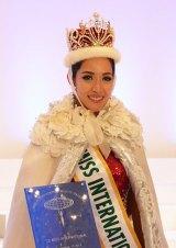 『2013 ミス・インターナショナル世界大会』グランプリを獲得したフィリピン代表のベア・ローズ・サンチャゴさん(23) (C)oricon ME inc.