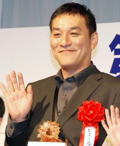 『第38回 報知映画賞』表彰式に出席したピエール瀧 (C)ORICON NewS inc.