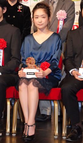『第38回 報知映画賞』表彰式に出席した池脇千鶴 (C)ORICON NewS inc.