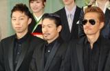『第55回 輝く!日本レコード大賞』記者会見に出席したEXILE(左から)USA、MATSU、ATSUSHI (C)ORICON NewS inc.