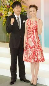 『第55回 輝く!日本レコード大賞』で司会を務める(左から)安住紳一郎、上戸彩 (C)ORICON NewS inc.