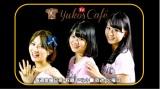 土山茜と中村裕香里のサポートを受けて番組収録を行なう菅本裕子