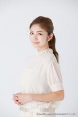 きょう入籍したことを発表した宇井愛美(C)LesPros Entertainment Co., Ltd.