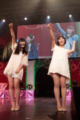 新加入が発表された内村莉彩(左)と浅川梨奈