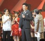 『第3回 AKB48 紅白対抗歌合戦』で始球式を行った田中将大投手 (撮影:鈴木かずなり)
