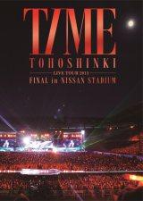 最新ライブDVD『東方神起 LIVE TOUR 2013 〜TIME〜 FINAL in NISSAN STADIUM』が週間DVDランキングに初登場で総合首位を獲得