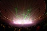 音、光、プロジェクションマッピングなど最先端の技術を駆使した演出で盛り上げた=『Perfume 4th Tour in DOME「LEVEL3」』