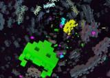 テレビを観ながら往年の名ゲーム「スペースインベーダー」の世界で遊ぼう(C)TAITO CORPORATION 1978 ALL RIGHTS RESERVED.