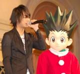 映画『劇場版HUNTER×HUNTER−The LAST MISSION−』クリスマスイベントに出席した(左から)浪川大輔、キルア