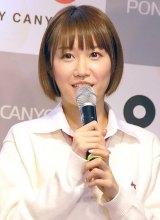 『渡り廊下走り隊ベストアルバム』発売記者会見に出席した浦野一美 (C)ORICON NewS inc.
