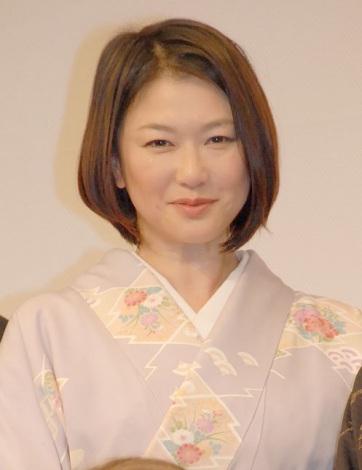 映画『小さいおうち』の歌舞伎座プレミアに出席した夏川結衣 (C)ORICON NewS inc.