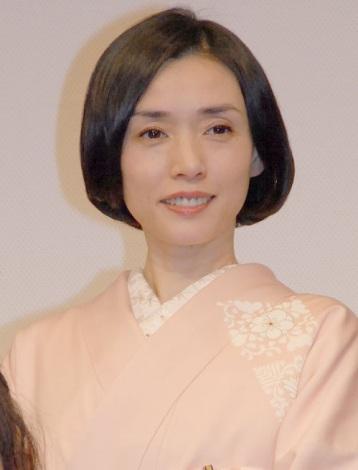 映画『小さいおうち』の歌舞伎座プレミアに出席した中嶋朋子 (C)ORICON NewS inc.