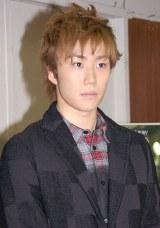 新春舞台公演2014『BUMP』の公開けいこ前取材会に出席した早乙女太一 (C)ORICON NewS inc.