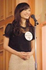 ミスキャンパスの頂点に輝いた立教大学3年の鎌田あゆみさん=『Miss of Miss CAMPUS QUEEN CONTEST 2013』 (C)ORICON NewS inc.