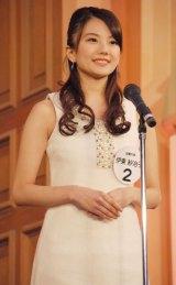 準グランプリ受賞した近畿大学文芸学部文学科2年生の伊藤沙冶子さん=『Miss of Miss CAMPUS QUEEN CONTEST 2013』 (C)ORICON NewS inc.