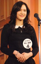 『Miss of Miss CAMPUS QUEEN CONTEST 2013』に出場した横山富輝さん (C)ORICON NewS inc.