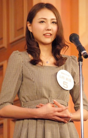 『Miss of Miss CAMPUS QUEEN CONTEST 2013』に出場した山形純菜さん (C)ORICON NewS inc.
