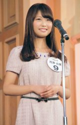 『Miss of Miss CAMPUS QUEEN CONTEST 2013』に出場した西澤由夏さん (C)ORICON NewS inc.