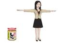 桃屋と脱力系CGアニメ「Peeping Life」のコラボレーション作品『ご縁ですよ!』の続編に登場するきざみしょうがさん
